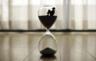 Geduld. Abnehmen ist eine Frage der Zeit